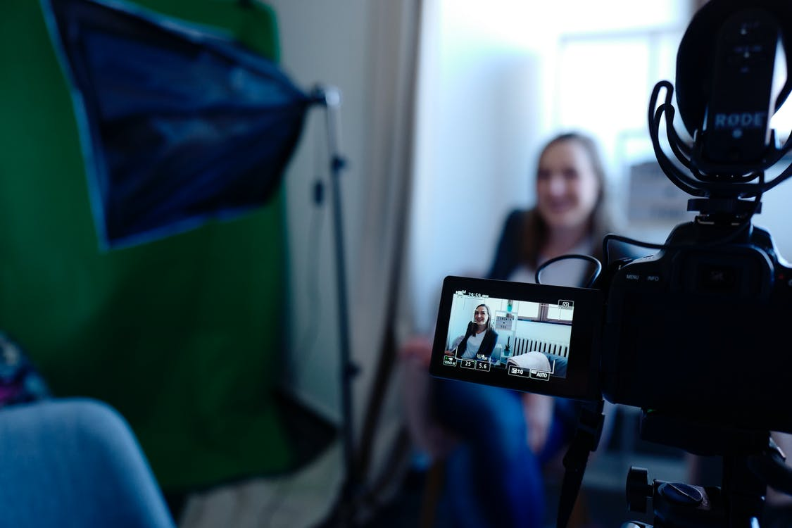 documentary filmmaking interview process woman speaking on camera