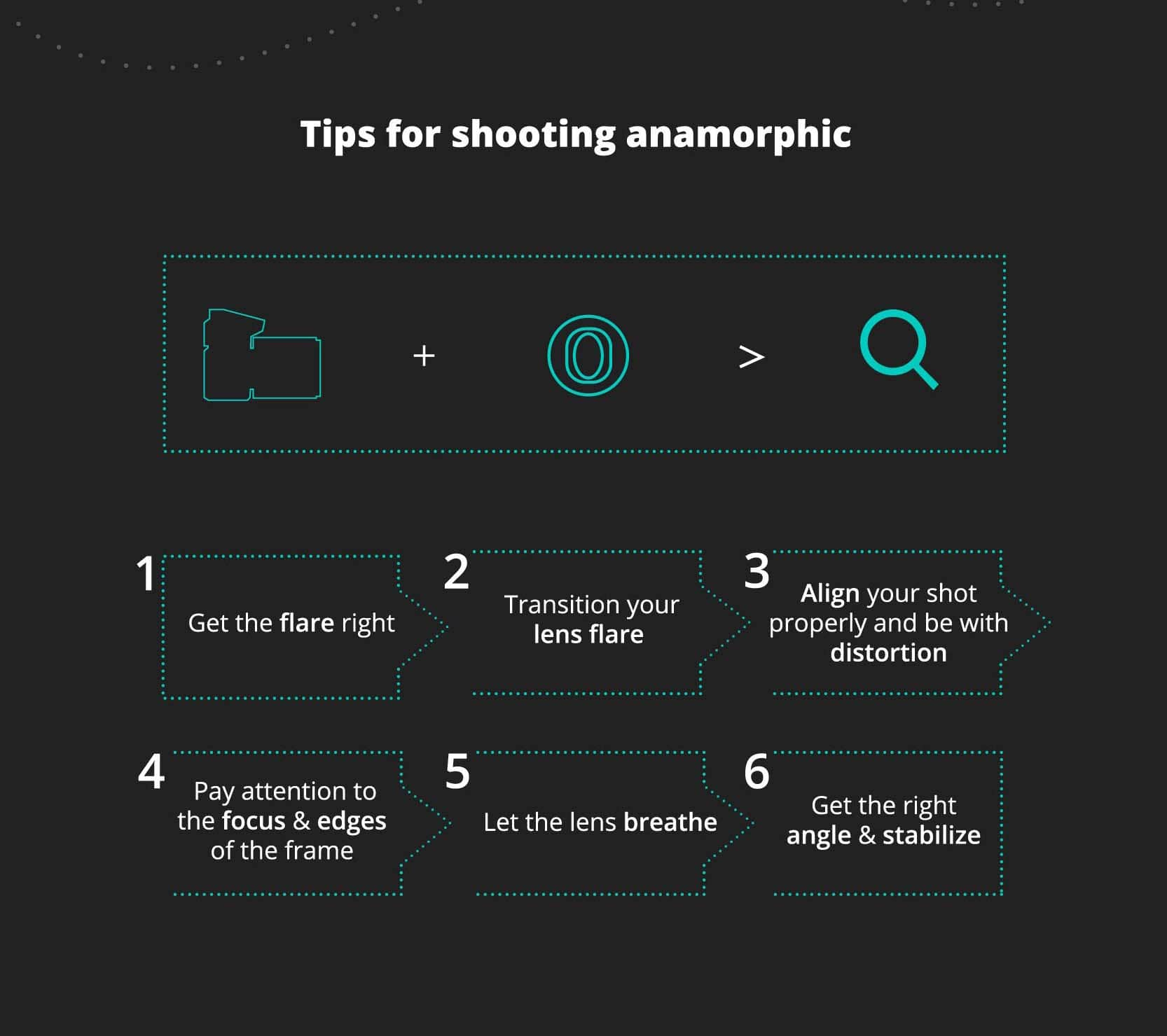 6 tips for shooting anamorphic footage