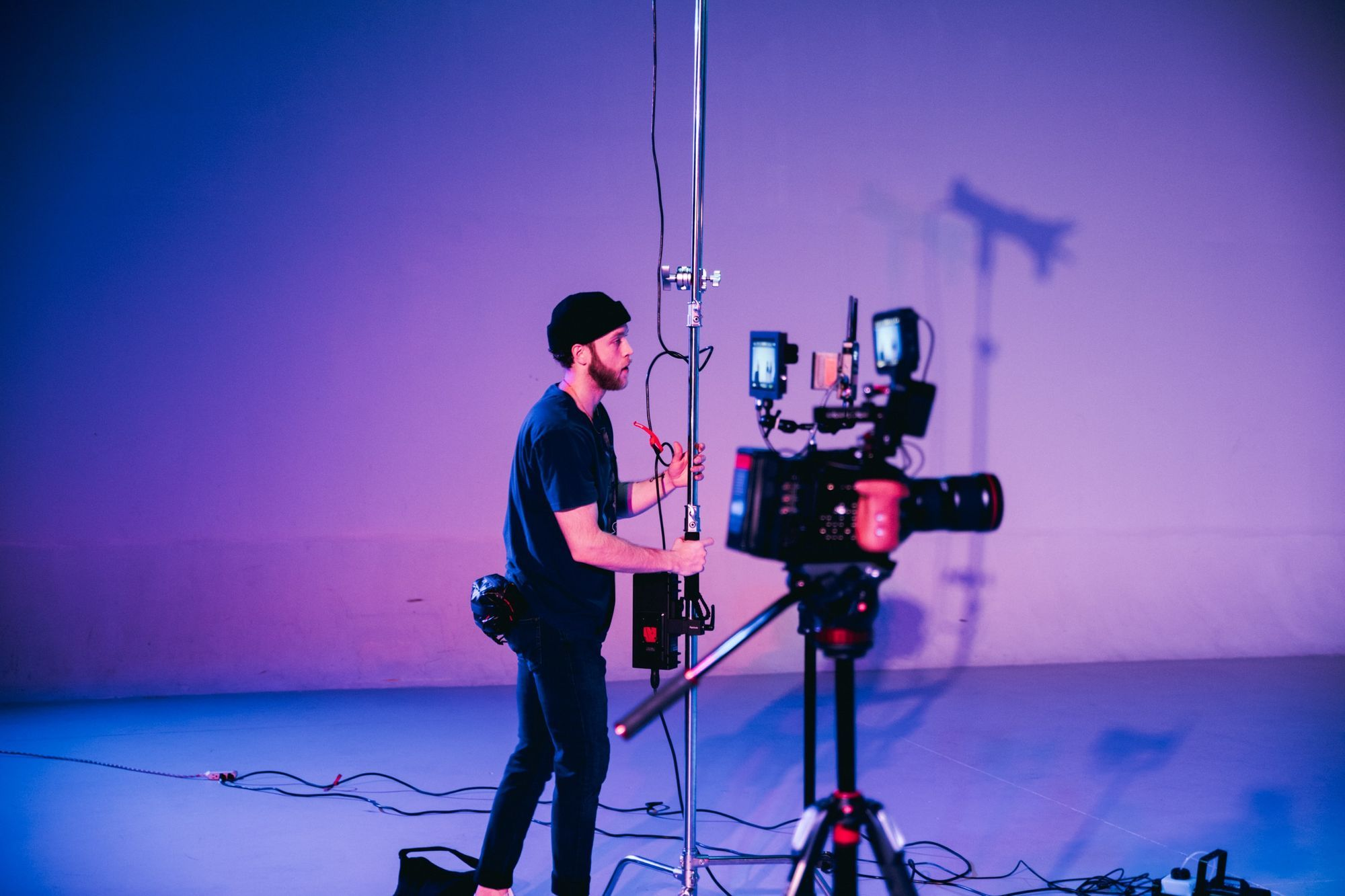 Establish the visual look is part of a cinematographer's duties