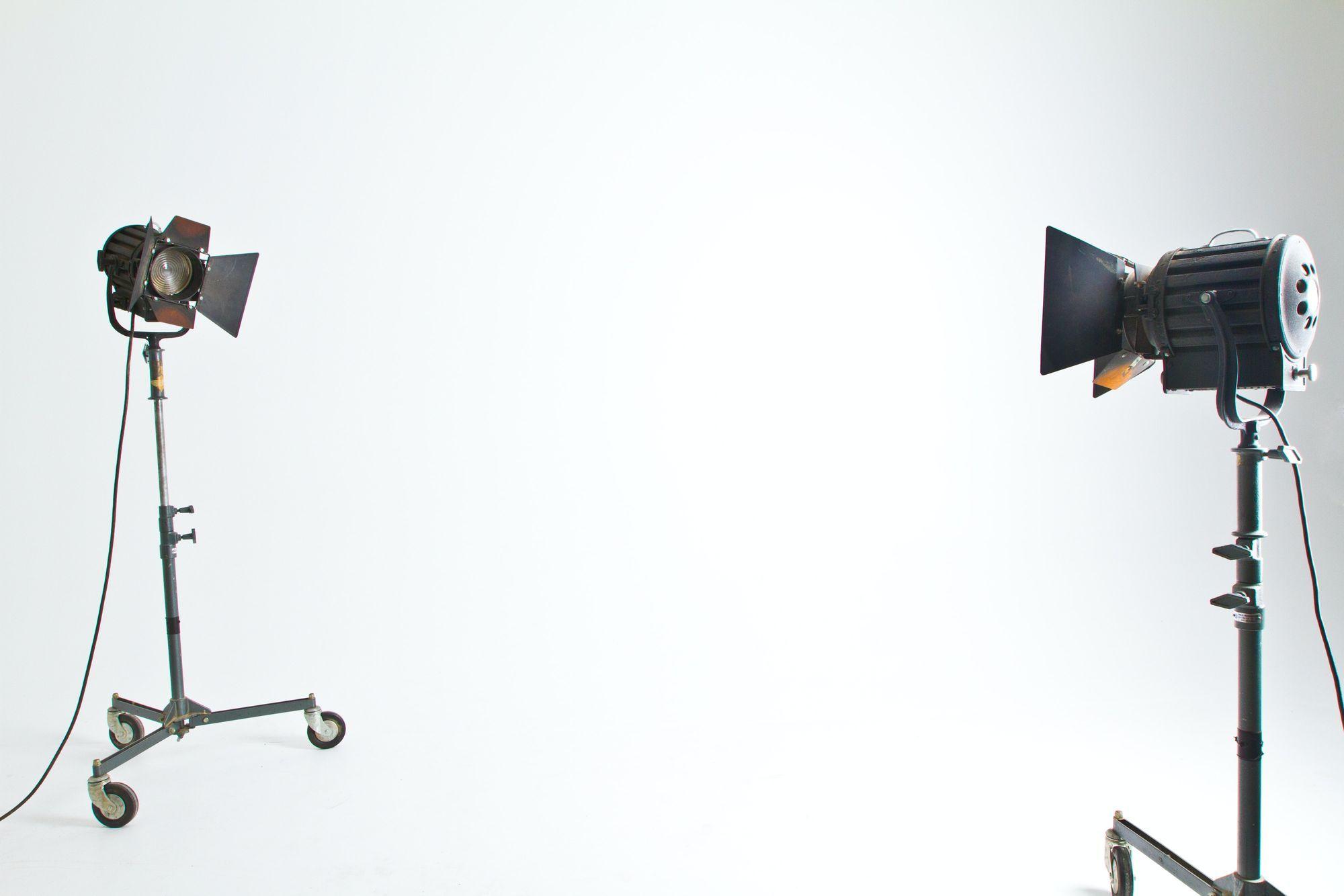 Fresnels for filmmaking