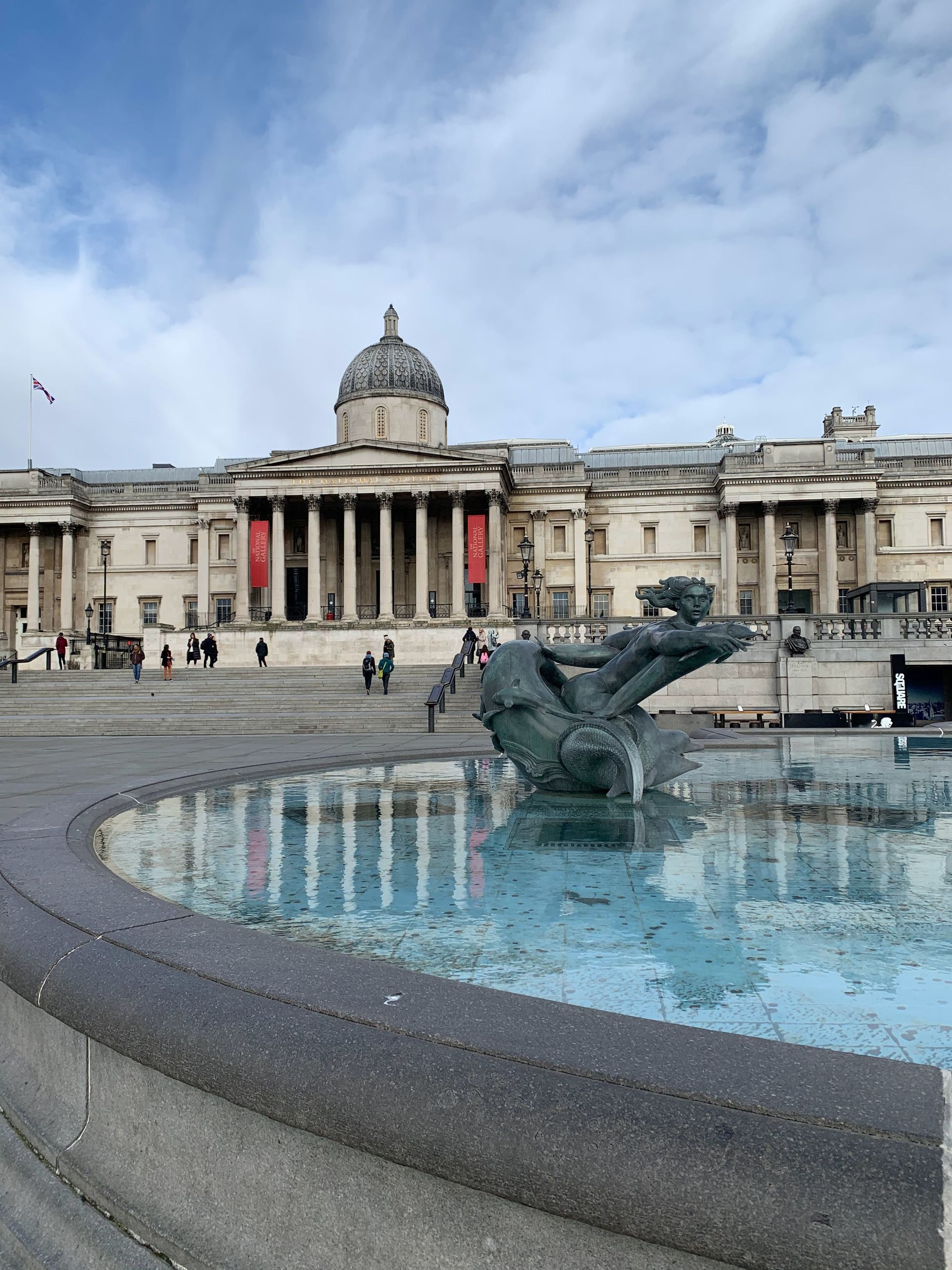 Trafalgar Square film location