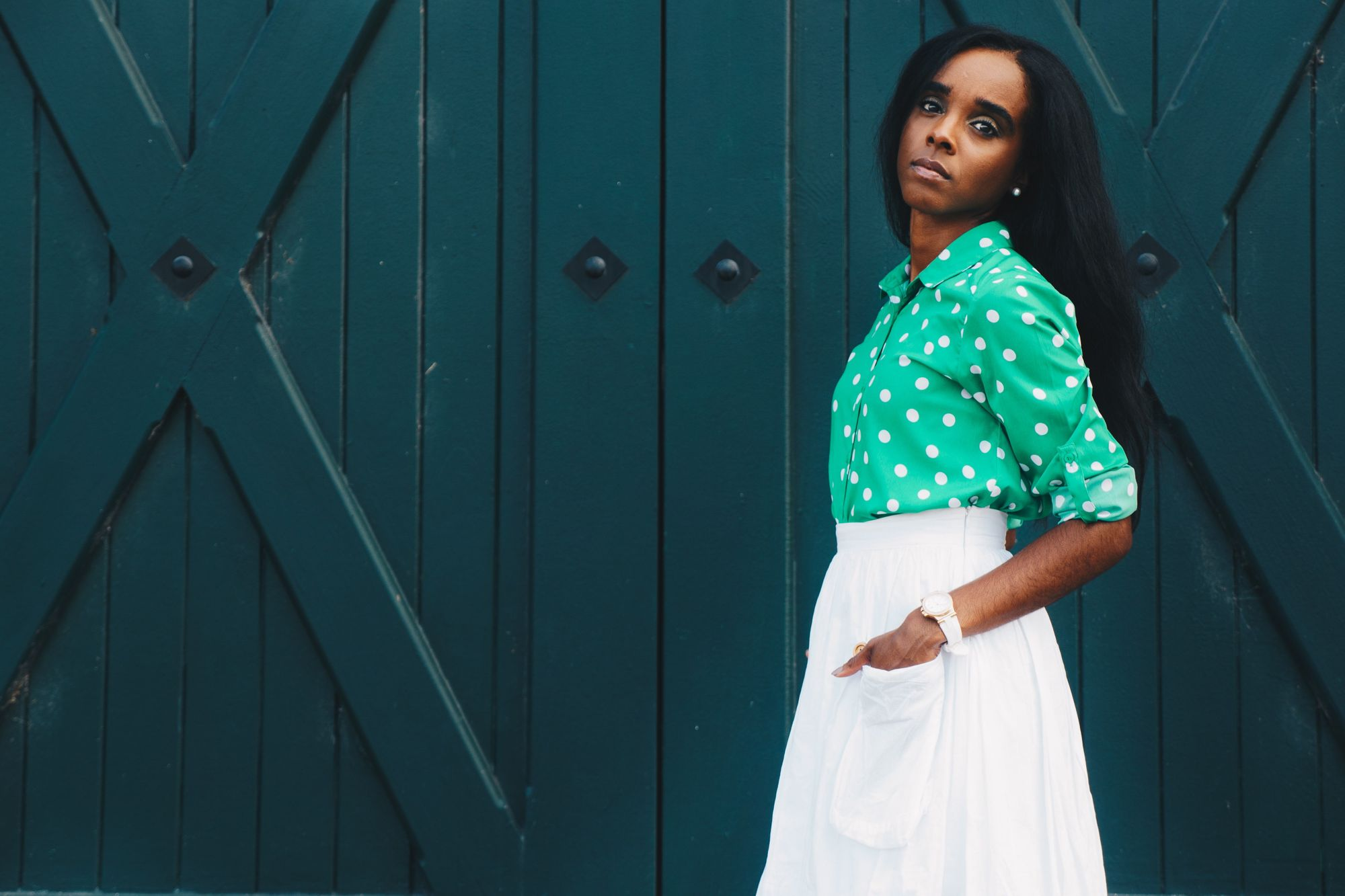 Find a background for your fashion shoot